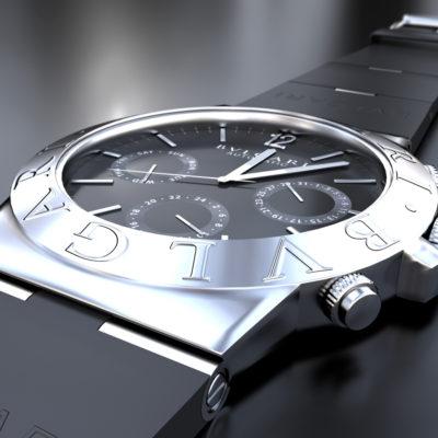 BVLGARI Reloj - Ilustración 3D