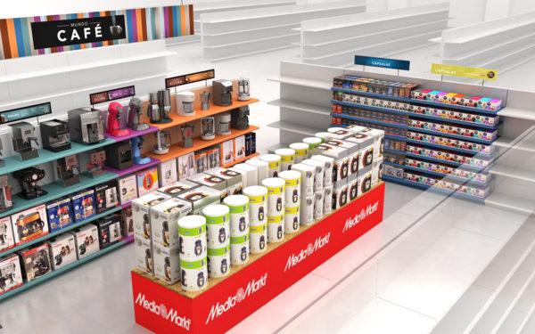Dolce Gusto MediaMarkt / Ilustración 3D