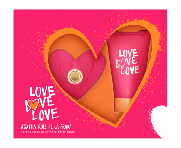 Agatha Ruiz de la Prada - LOVE - Edt 50 ml + Body 50 ml