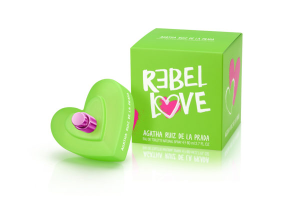 Agatha Ruiz de la Prada - Rebel Love - Bodegon 80 ml.