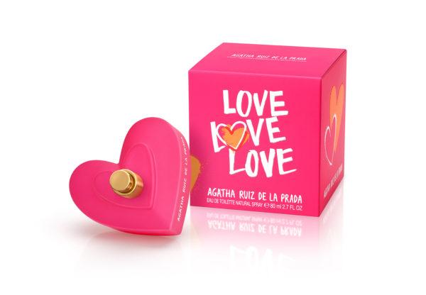 Agatha Ruiz de la Prada - LOVE Bodegon 80ml