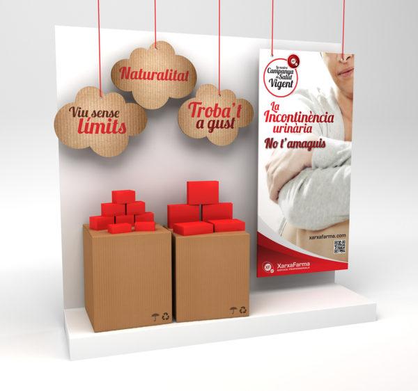 XarxaFarma Aparador Incontinencia / Ilustración 3D