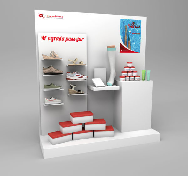 XarxaFarma Aparador Varices / Ilustración 3D