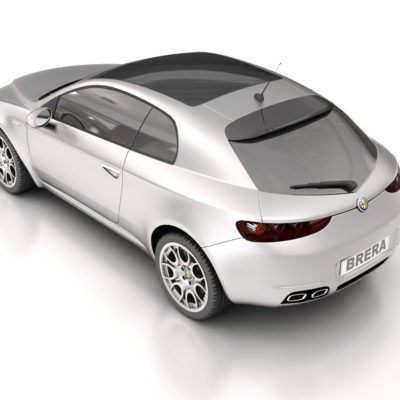 Alfa Romeo Brera / Ilustración 3D