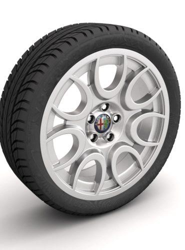 Alfa Romeo Brera Rueda / Ilustración 3D