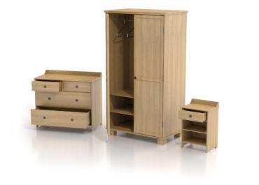 IKEA - Furniture Leksvik / Ilustración 3D