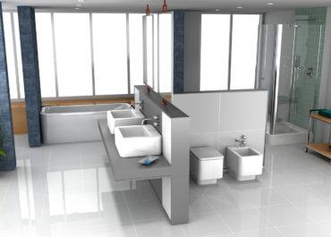 Roca - Colección Baño ELEMENT / Ilustración 3D