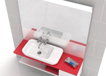 ROCA - Colección baño KHROMA / Ilustración 3D