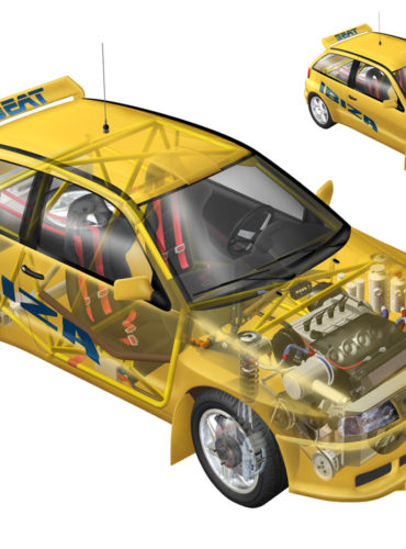 Seat Ibiza Kit Car - ilustración 3D