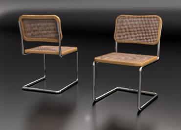 Silla Cesca - Ilustración 3D