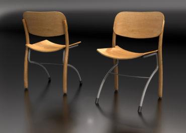 Silla University - Ilustración 3D